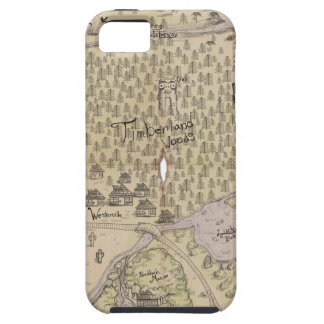 Rough Terrain Map iPhone 5 Covers