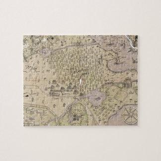 Rough Terrain Map Puzzle