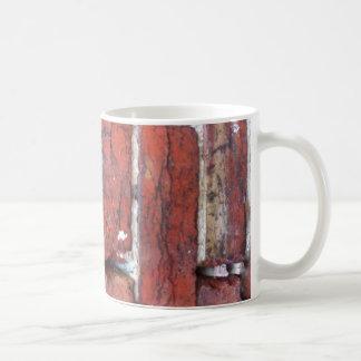Rough wall of Bricks Mug