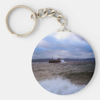 Rough Waters Key Chain