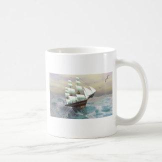 Rough Waves Coffee Mugs