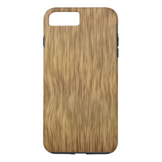 Rough Wood Grain Background in Natural Color iPhone 7 Plus Case