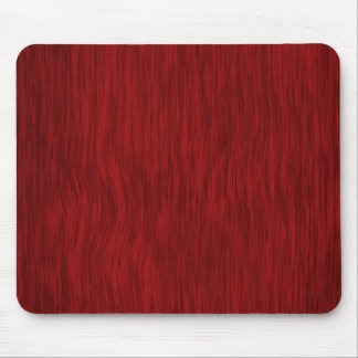 Rough Wood Grain Background - Red Mouse Pad