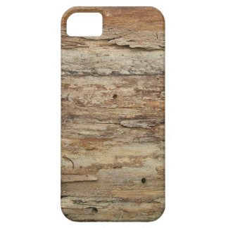 Rough Wood Grain Barely There iPhone 5 Case