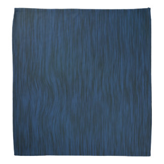Rough Wood in Blue Finish Bandana