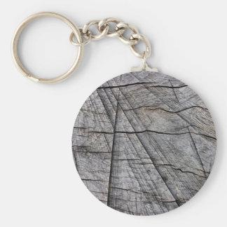 Rough wood keychains
