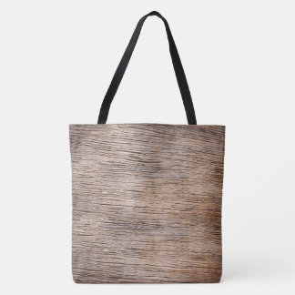 Rough Wooden Plank on Tote Bag