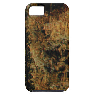 rough yellow surface iPhone 5 cover