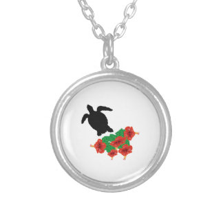 Roughing It Silver Plated Necklace