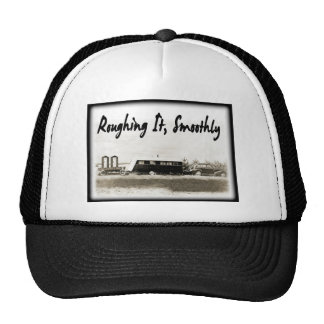 Roughing It Smoothly in Vintage Trailer Hats