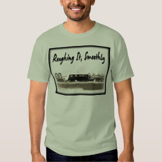 Roughing It Smoothly in Vintage Trailer T Shirt