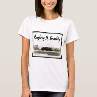 Roughing It Smoothly in Vintage Trailer T-Shirt
