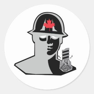 Roughneck Drill Bit Sticker/Decal Classic Round Sticker