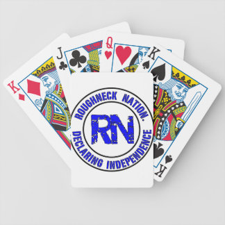 ROUGHNECK NATION LOGO BICYCLE PLAYING CARDS