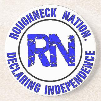ROUGHNECK NATION LOGO COASTER