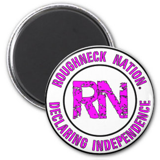 ROUGHNECK NATION LOGO MAGNET