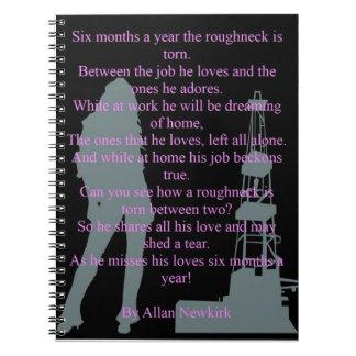 Roughneck torn notebook