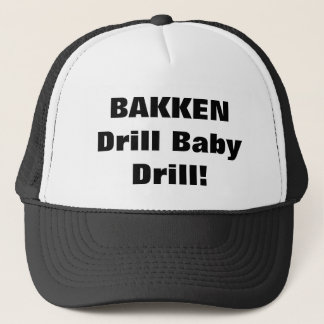 Roughnecks BAKKEN Trucker Hat