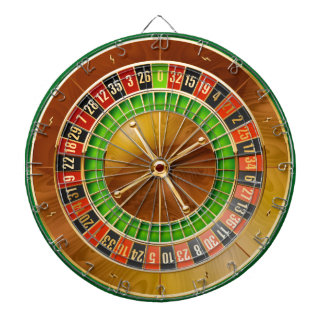 Roulette 1 dartboard