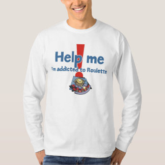 Roulette Addict's long sleeve t-shirt