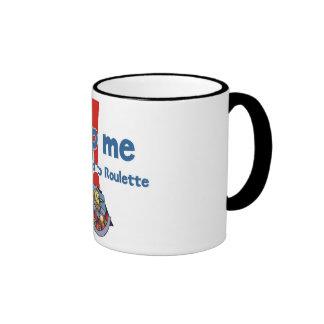 Roulette Addict's ringer mug