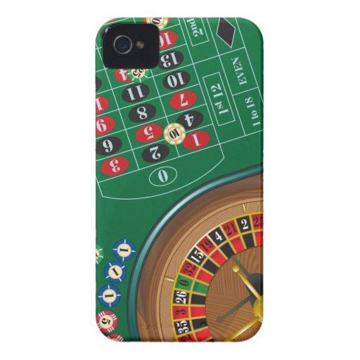 Roulette Casino Gambling Table Blackberry Case