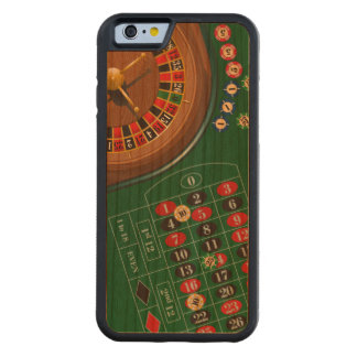Roulette Casino Gambling Table Cherry iPhone 6 Bumper Case