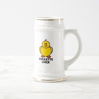 Roulette Chick Coffee Mugs