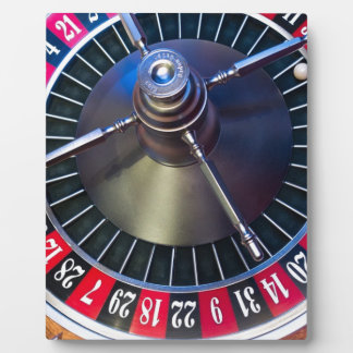 Roulette Game Plaque