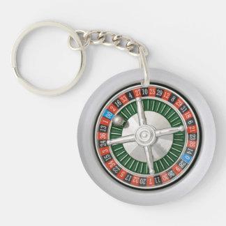 Roulette Key Ring