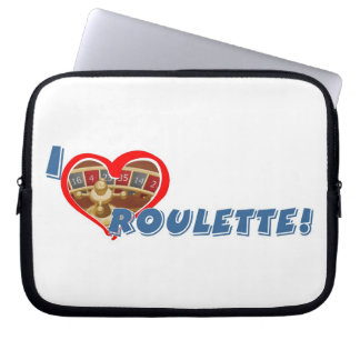 Roulette Lover s laptop sleeves