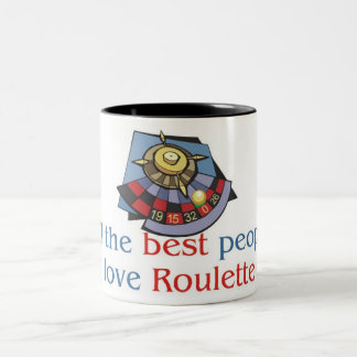 Roulette Lover's two tone mug