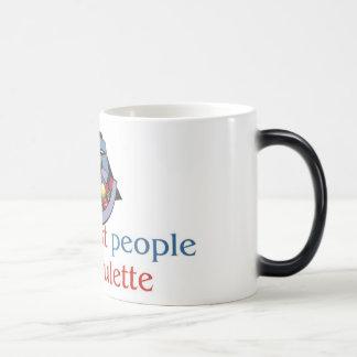 Roulette morphing mug