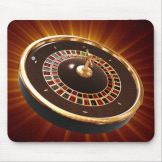 roulette mouse pad