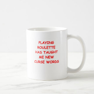 ROULETTE COFFEE MUGS