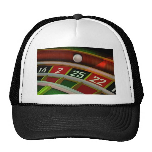 Roulette Rulet Casino Game Hats