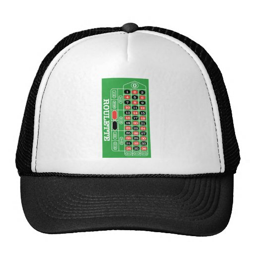 Roulette Table - Casino Gamble To Win Hats