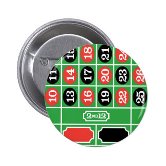 Roulette Table - Casino Gamble To Win Pins