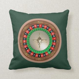 Roulette Throw Pillow Throw Cushion