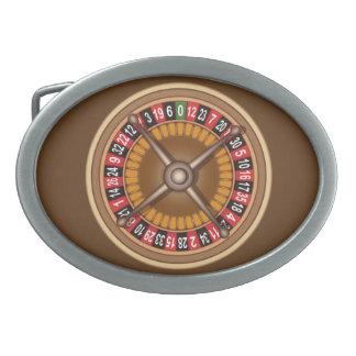 Roulette Wheel belt buckle
