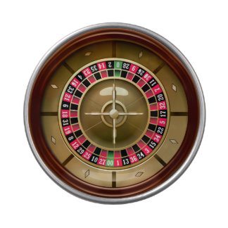 Roulette Wheel Candy Tins