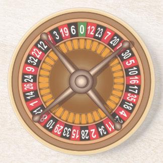 Roulette Wheel coaster