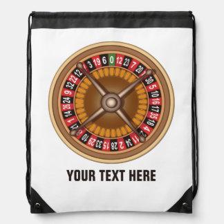 Roulette Wheel custom backpack
