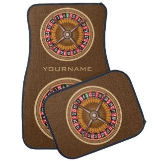 Roulette Wheel custom car floor mats