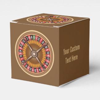 Roulette Wheel custom favor box Wedding Favour Box