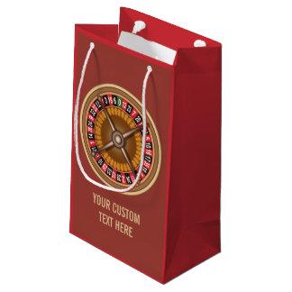 Roulette Wheel custom gift bags