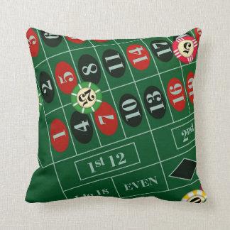 Roulette Wheel Custom Pillow Cushions