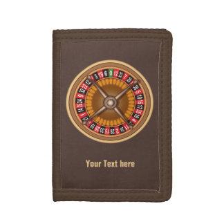 Roulette Wheel custom wallets