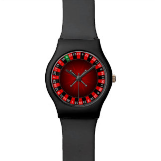 Roulette wheel design watch