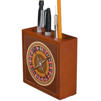 Roulette Wheel desk organizer Desk Organiser